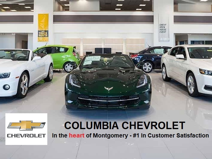 Columbia Chevrolet Building Logo