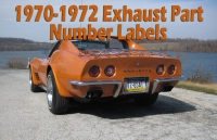 Click here to view 1970-1972 Exhaust Part Number Labels's details!