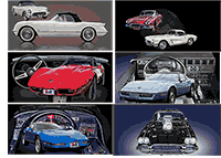 Corvettes through the years!