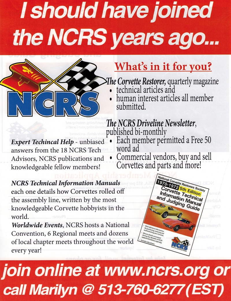 Why should I join the NCRS