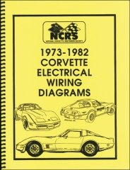 Corvette 1973-82 Electrical Wiring Diagrams - $19.95 ...