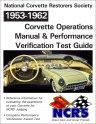 Corvette 1973 82 Electrical Wiring Diagrams 19 95 National Corvette Restorers Society Online Store
