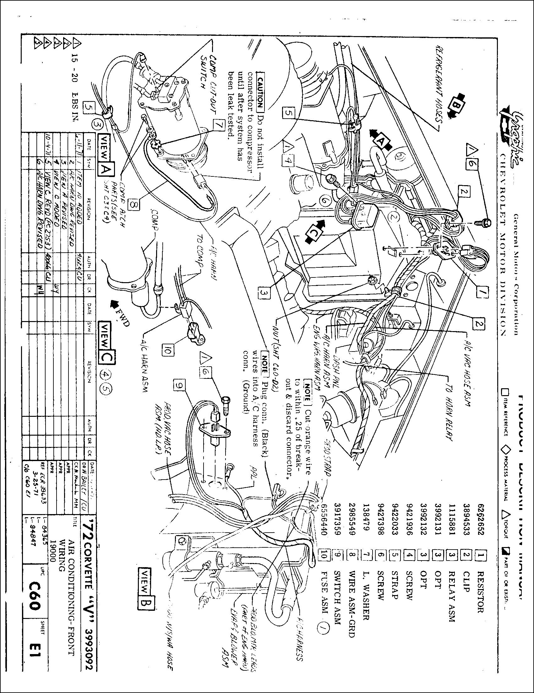 1969 firebird headlight wiring diagram