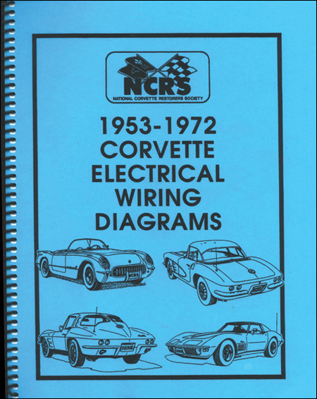 Corvette 1953-72 Electrical Wiring Diagrams